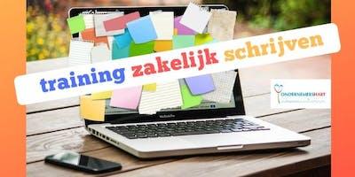 Training Zakelijk/Creatief Schrijven