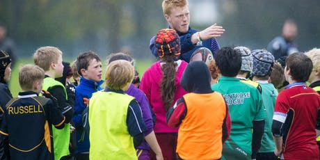 UKCC Level 1: Coaching Children Rugby Union - Fife Schools (closed) tickets