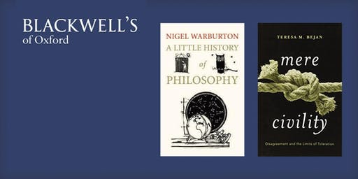 Philosophy in the Bookshop - Nigel Warburton and Teresa Bejan