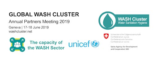 Global WASH Cluster Partners Meeting 17-18 June 2019