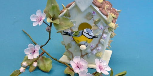 NEW - Tiered Cakes, Bird House & Blossoms - 2 Days