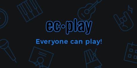 EC-Play Musikksommerskole uke 33 tickets