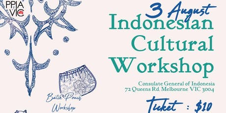 Indonesian Cultural Workshops tickets