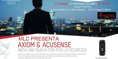 MLC PRESENTA: AXIOM & ACUSENSE HIKVISION