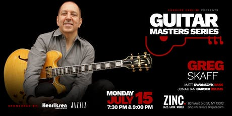 Guitar Masters Series: Greg Skaff Trio tickets