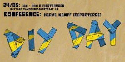 Conférence Hervé Kempf dans le cadre de la journée DIY du 24 mai
