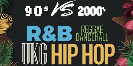 90s VS 00s! Bournemouth, Part 4 / R&B, Hip Hop UKG, Dancehall. Eden Club tickets