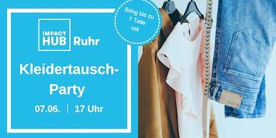 Kleidertausch-Party im Impact Hub Ruhr