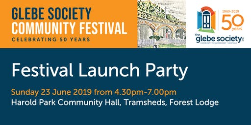 Launch Party - Glebe Society Community Festival