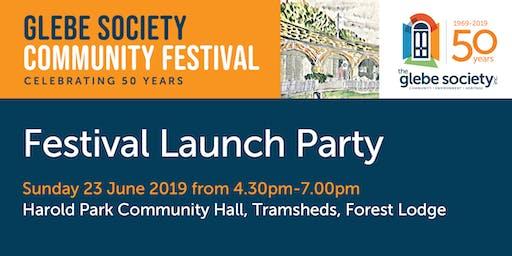 Launch Party - Glebe Society Community Festival