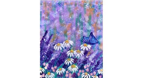 Dayton American Legion Post 619 - Spring Blooms - Paint Party