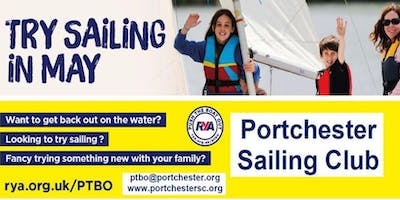 Portchester Sailing Club RYA Push The Boat Out - Try Sailing For Free