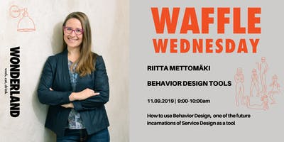Waffle Wednesday: Behavior Design Tools