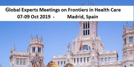 Global Experts Meetings on Frontiers in Health Care tickets
