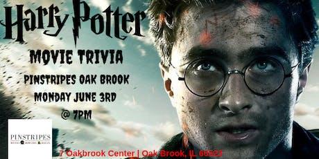 Harry Potter Movie Trivia at Pinstripes Oak Brook tickets