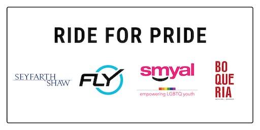 PRIDE Charity Ride at Flywheel CityCenter