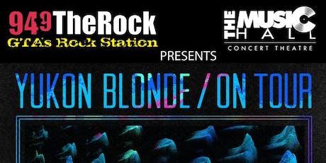 Yukon Blonde tickets