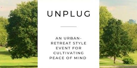 UNPLUG - urban mindfulness retreat  tickets