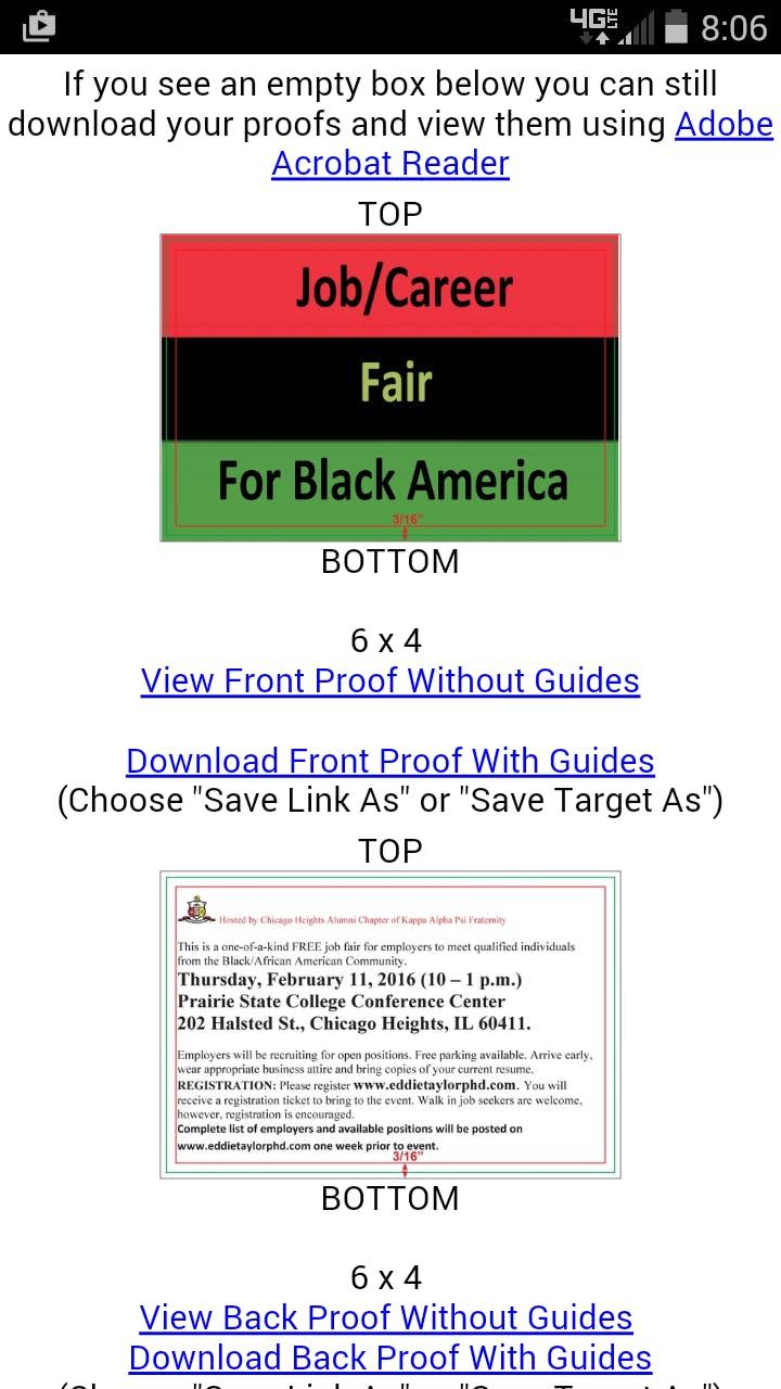 Job/Career Fair for Black America - Phoenix