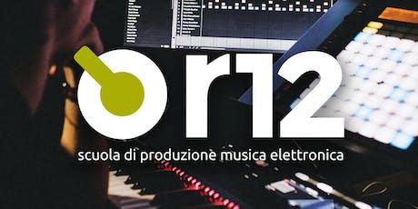 punto r12 Perugia - Openday anno accademico 2019/20 biglietti