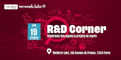 R&D CORNER - Juin 2019