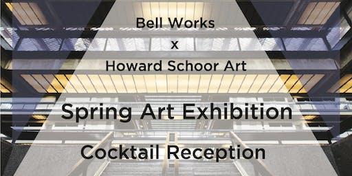 """Bell Works + Howard Schoor Art's """"Artnership"""" – A Fresh Take on Art in Public Spaces"""
