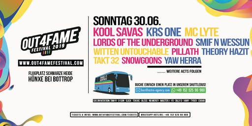 Sonntag - Out4Fame Festival 2019