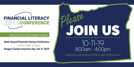 2019 FINANCIAL LITERACY CONFERENCE tickets