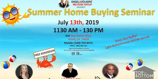 Melrose Group Presents: Free Home Buying Seminar