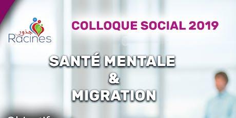 Santé mentale et migration  tickets