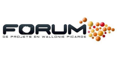 43ème - Forum de projets de Wallonie picarde billets