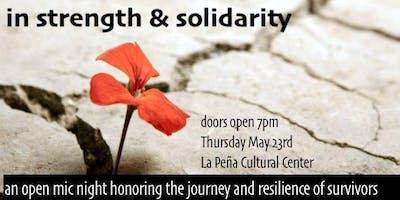 In Strength and Solidarity: An Open Mic Night