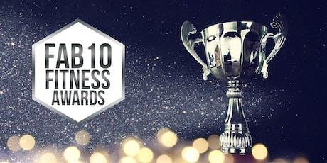 Fab 10 Fitness Awards tickets