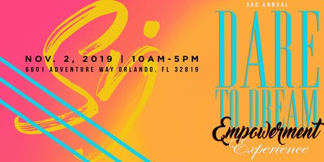Live Limitless: Dare to Dream Empowerment Experience 2019 tickets