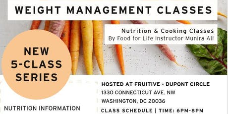 Food For Life: Kickstart your Health / Weight Management Classes tickets