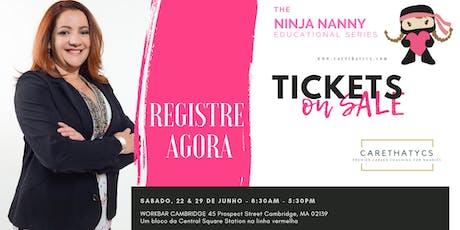 Treinamento para Babás - Ninja Nanny Boot Camp tickets