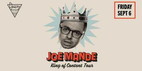 Joe Mande – King of Content Tour tickets