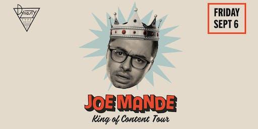 Joe Mande – King of Content Tour