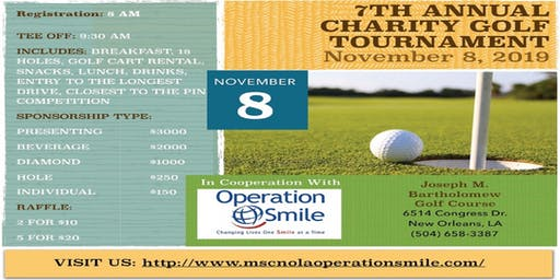 MSC New Orleans - Annual Charity golf tournament for Operation Smile, 7th edition