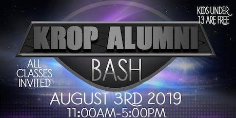 Krop Alumni Bash tickets