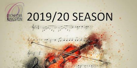2019/20 Season Subscription tickets