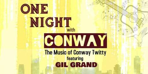 ONE NIGHT with CONWAY - Park Theatre, McMinnville TN