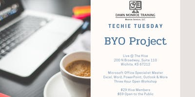 Techie Tuesday BYO Project: July 23