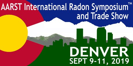 2019 AARST International Radon Symposium and Trade Show tickets