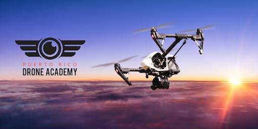 Curso de Piloto de Drones para la Licencia Comercial FAA-107 (Nocturno)
