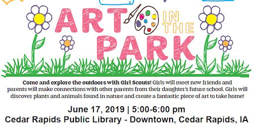 Art In The Park: Pre-K and Kindergarten Program