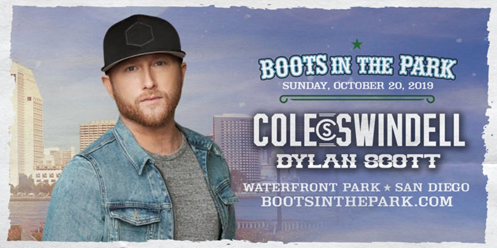 12369c9682824 Boots in the Park - San Diego with Cole Swindell