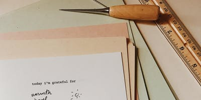 Bookbinding: Gratitude Journals + Meditation at Plant Work Shop