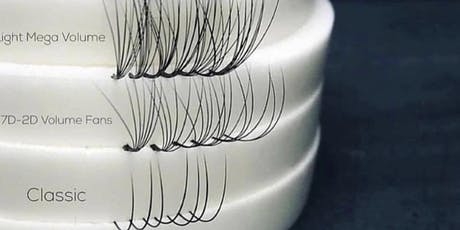 Detroit Eyelash Extension 3 in 1 Training tickets
