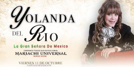 Yolanda Del Rio tickets